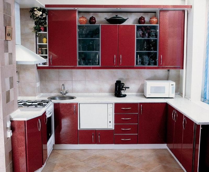 ديكورات مطابخ مصرية – اروع صور مطبخ ضيق 2014