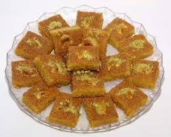 حلويات صيامى جديدة بالصور – طريقة عمل البسبوسة الصيامى من مطبخ حياتى