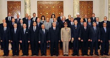 بالصور   التشكيل الوزارى الجديد لمصر بعد عزل مرسى