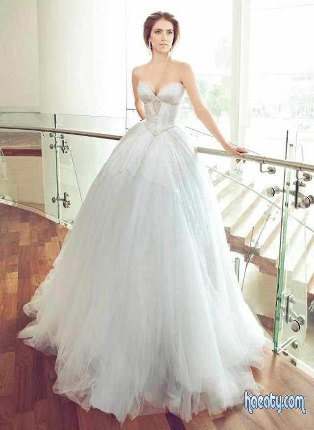أشيك فساتين زفاف 2014 , صور فساتين زفاف كيوت 2014 , Wedding Dresses