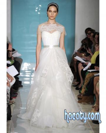 فساتين زفاف رقة 2014 , صور فساتين زفاف علي الموضة 2014 , Wedding Dresses
