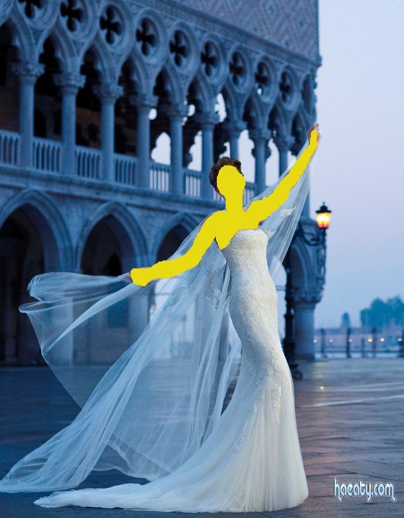 اشيك فساتين زفاف 2014 , صور فساتين زفاف تهبل 2014 , Takbl wedding dresses