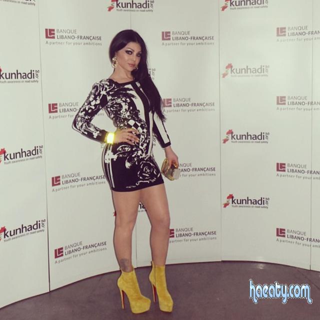 فساتين هيفاء وهبي 2014- Dresses Haifa Wehbe 2014