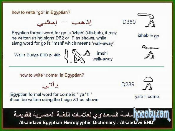اكتشاف جديد فى اللغة الهيروغليفية 2014