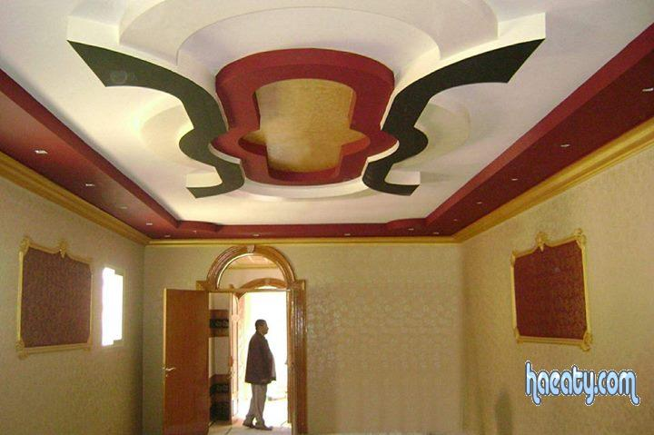 ديكورات جبس اسقف غرف نوم