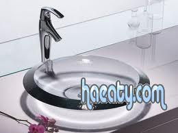 احواض حمامات زجاج