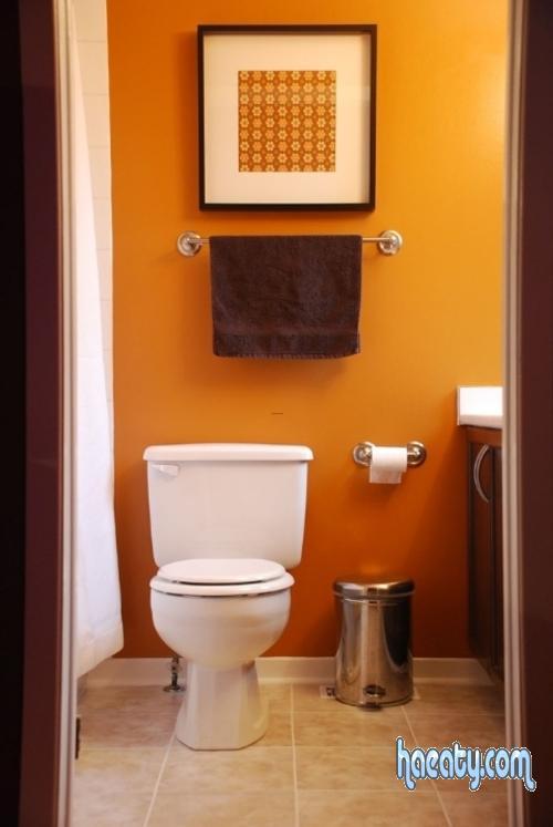 ديكورات حمامات بسيطة