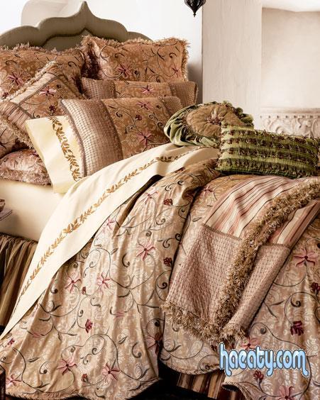 معايا النهارده احدث مفارش السرير السورى 2014