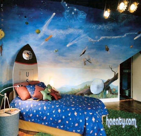 للولاد فقط غرف نوم اطفال تجنن 2014