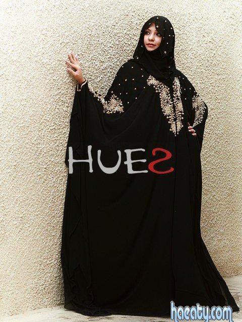 dceff05224aad عبايات اسلامية سوداء 2014