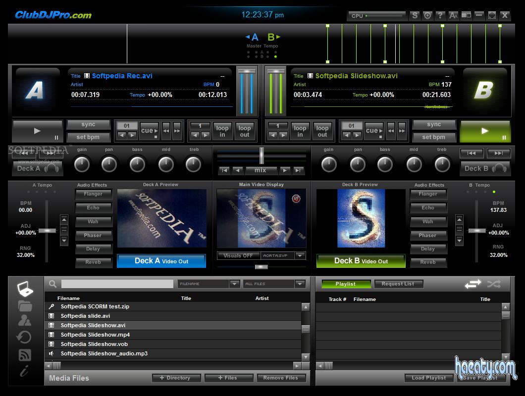 تحميل برنامج عملاق عمل الأغاني والمهرجانات 2014 ClubDJ Pro