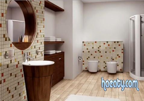 ديكورات سيراميك حمامات 2014