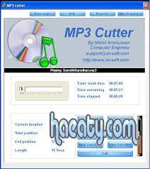 تحميل برنامج تقطيع الاغانى مجانا Download MP3 Cutter2014