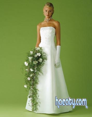 فساتين زفاف تصميمات بسيطة عصرية 2016