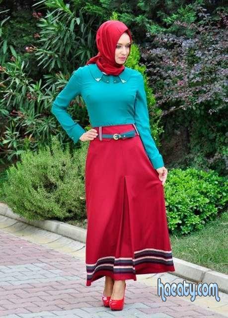 ملابس محجبات كاجوال صيفية للعيد2017
