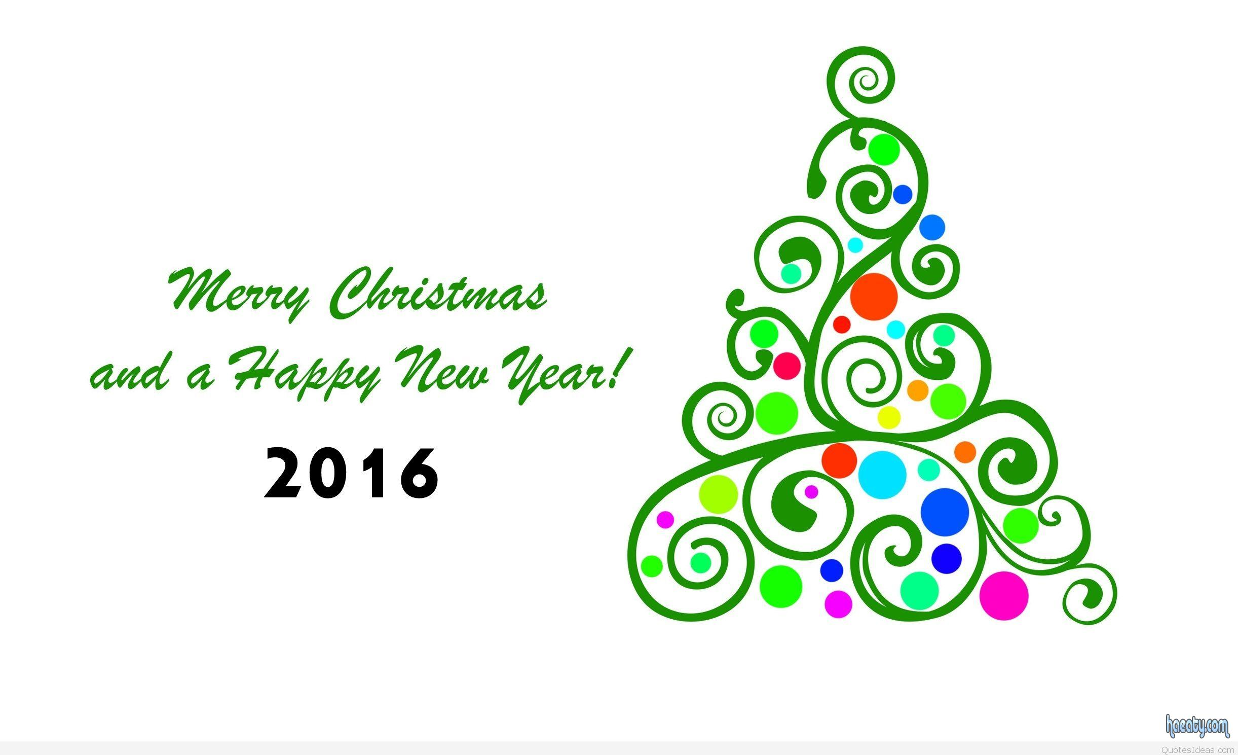 خلفيات عيد الكريسماس 2016-Merry-Christmas-and-Happy-new-year-2016