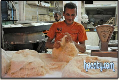 طريقة عمل الكنافة باللبن بالصور والخطوات – اجدد حلويات رمضان 2017