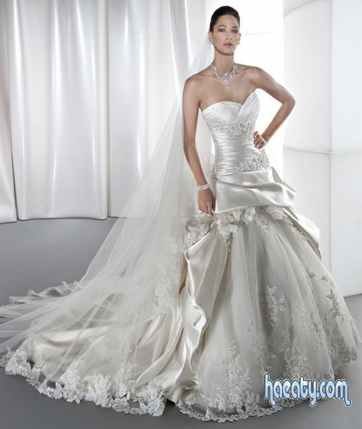 فساتين زفاف ناعمة  2018 – 2019 Soft Wedding Dresses