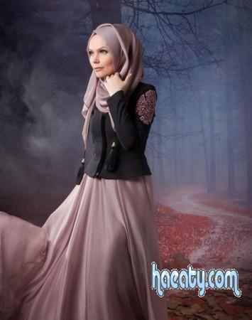 فساتين محجبات تركية  Dresses veiled Turkish 2018
