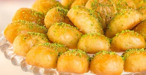 حلويات شرقية – طريقة عمل رموش الست منال العالم 2018