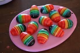 حلويات ملونة للأطفال